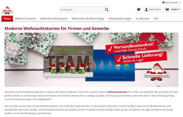 Vorschau von weihnachtskarten-shop.com, Weihnachtskarten-Shop.com