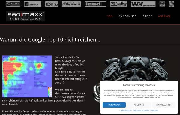 Vorschau von www.seomaxx.com, seomaxx GmbH