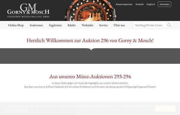 Vorschau von www.gmcoinart.de, Gorny & Mosch GmbH