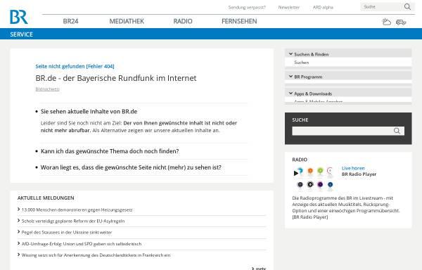 Vorschau von www.br.de, BR-Chronik