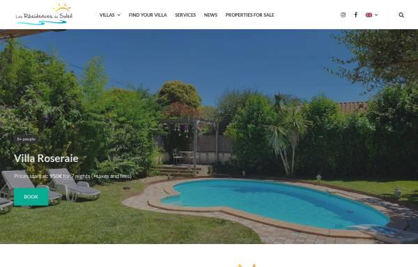 Vorschau von www.residence-location.com, Agentur