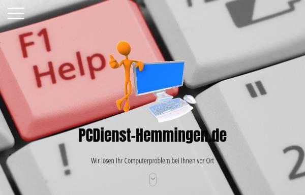 Vorschau von www.pcdienst-hemmingen.de, PCDienst-Hemmingen.de - Inh. Maik Hencke