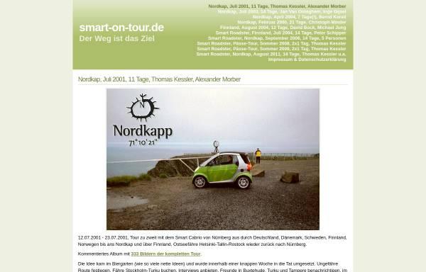 Vorschau von www.smart-on-tour.de, Smart on Tour