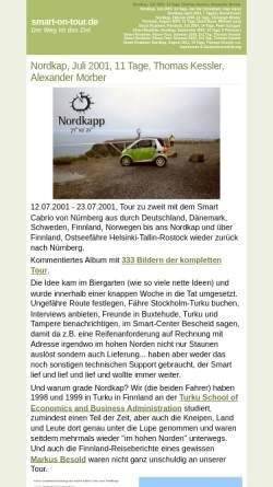 Vorschau der mobilen Webseite www.smart-on-tour.de, Smart on Tour