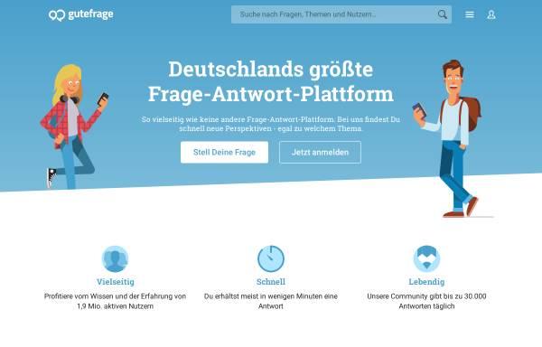 Vorschau von www.gutefrage.net, Gutefrage.net
