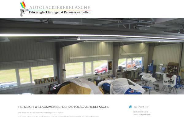 Vorschau von www.autolackierung-langenhagen.de, Asche Automobile - Inh. Hendrik Asche