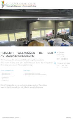 Vorschau der mobilen Webseite www.autolackierung-langenhagen.de, Asche Automobile - Inh. Hendrik Asche