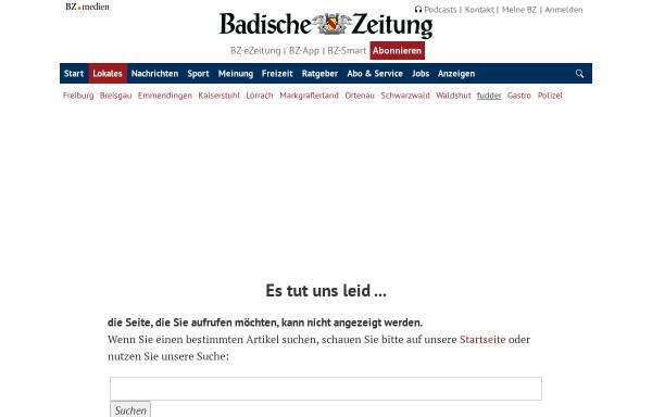 Vorschau von fudder.de, 175 Internet-Communitys