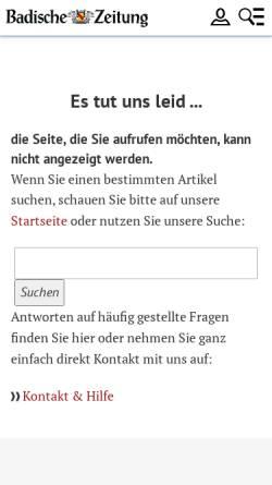 Vorschau der mobilen Webseite fudder.de, 175 Internet-Communitys