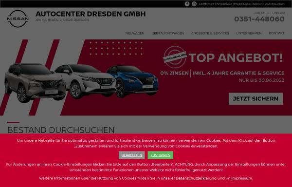 Vorschau von www.autocenter-dresden.de, Autocenter Dresden GmbH