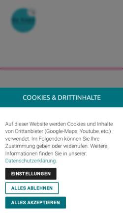 Vorschau der mobilen Webseite www.zukunftsmarke.de, Da kapo - Kreative Werbung GmbH