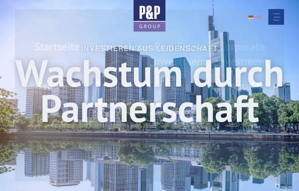 Vorschau von www.pp-gruppe.de, P&P Gruppe Bayern GmbH