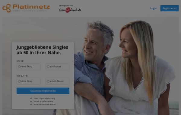Vorschau von platinnetz.de, Platinnetz