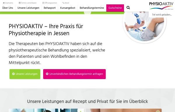 Vorschau von www.physioaktiv-jessen.de, Physioaktiv Jessen