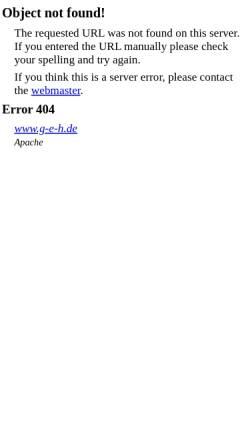 Vorschau der mobilen Webseite www.g-e-h.de, Der Westerwälder Kuhhund