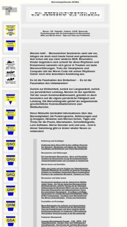 Vorschau der mobilen Webseite www.qsl.net, DK5KE