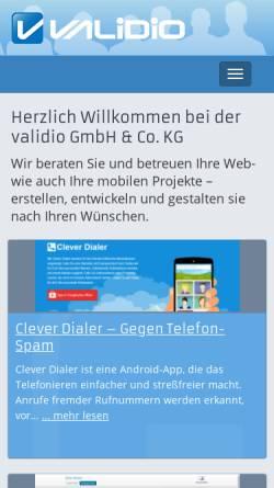 Vorschau der mobilen Webseite www.waslos.de, Waslos.de