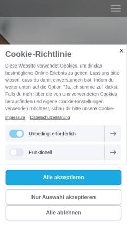 Vorschau der mobilen Webseite leichtathletik-psv-muenchen.jimdo.com, PSV München - Leichtathletik
