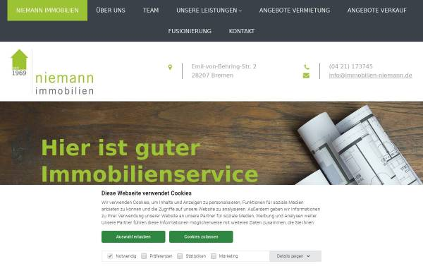 Vorschau von www.immobilien-niemann.de, Hermann J. Niemann