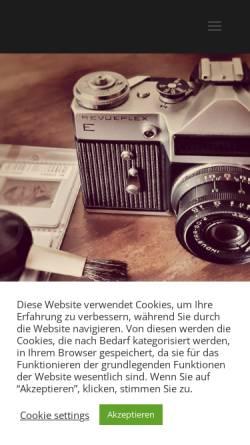 Vorschau der mobilen Webseite www.abphoto.de, André Boeck