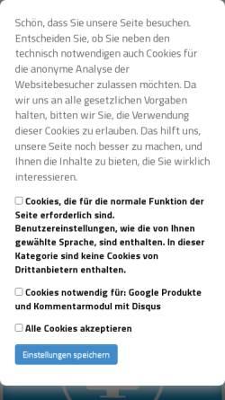 Vorschau der mobilen Webseite www.maron-webdesign.de, Maron mediendesign, Manuela Maron