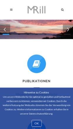 Vorschau der mobilen Webseite www.m-rill.de, Michael Stefan Rill