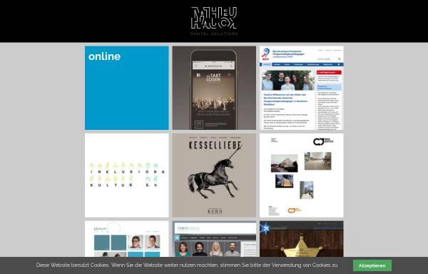 Vorschau von www.mathieu-hauck.de, Online- & Printmedien, Mathieu Hauck
