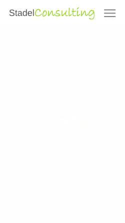 Vorschau der mobilen Webseite www.stadelconsulting.de, ST-Netdesign, Steffen Stadel