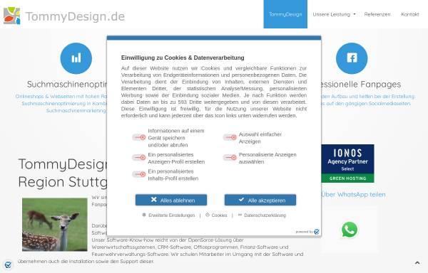 Vorschau von www.tommydesign.de, TommyDesign.de, Tommy Müller