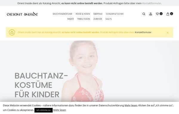 Vorschau von www.orient-inside.de, Orient Inside, Nurife Guel