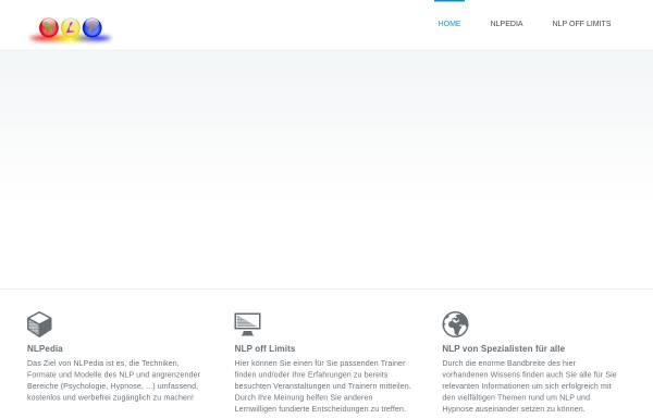 Vorschau von nlpportal.org, NLP-Portal