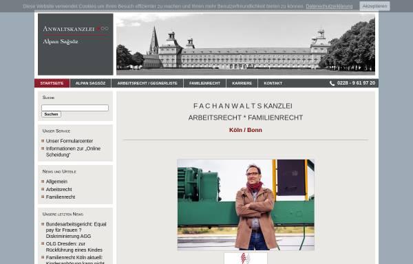 Vorschau von bonn-rechtsanwalt.de, Rechtsanwälte Sagsöz & Euskirchen