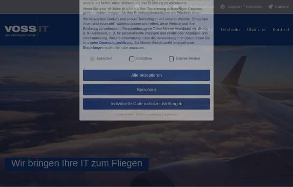 Vorschau von www.vossit.eu, Voss IT, Inh. Carsten Voss