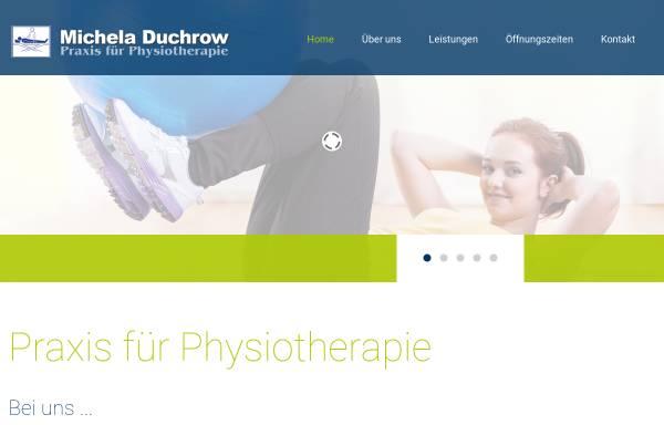 Vorschau von www.physiotherapie-duchrow.de, Praxis für Physiotherapie Duchrow in Rathenow