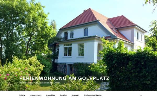 Vorschau von ostseeferien-wohnung.com, Ferienwohnung am Golfplatz Wittenbeck