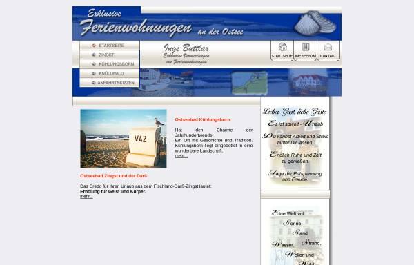 Vorschau von server.vddo.de, Ferienwohnungen Inge Buttlar