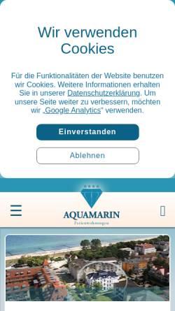 Vorschau der mobilen Webseite www.hausblinkfuer.de, Ferienwohnungen im Haus Blinkfüer
