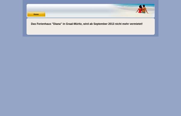 Vorschau von www.ostseeurlaub-neumann.eu, Ferienhaus / Ferienwohnung Neumann