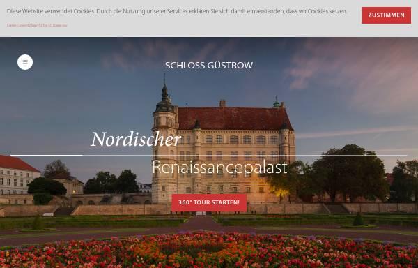 Vorschau von www.schloss-guestrow.de, Schloss Güstrow