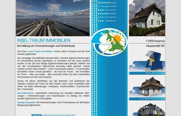 Vorschau von www.insel-traum-immobilien.de, Insel-Traum-Immobilien