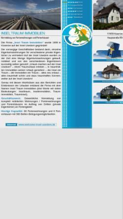 Vorschau der mobilen Webseite www.insel-traum-immobilien.de, Insel-Traum-Immobilien