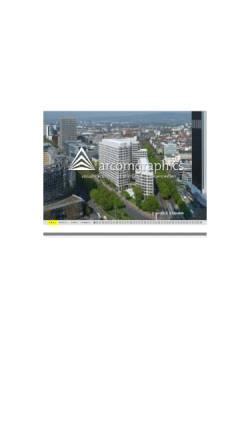 Vorschau der mobilen Webseite www.arcom-graphics.de, Arcom Graphics