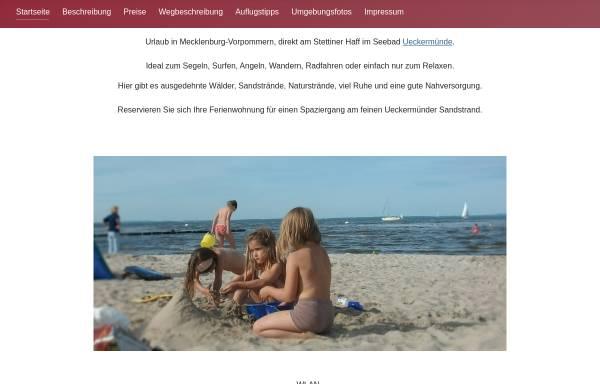 Vorschau von www.fewo-mandelkow.de, Ferienwohnung Mandelkow