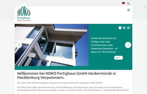 Vorschau von www.hoko-haus.de, HOKO Fertighaus GmbH