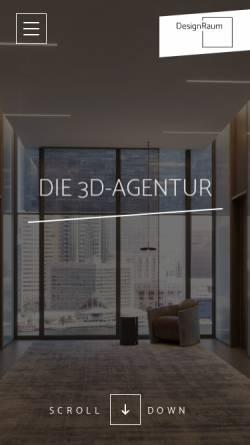 Vorschau der mobilen Webseite www.designraum.ch, DesignRaum GmbH