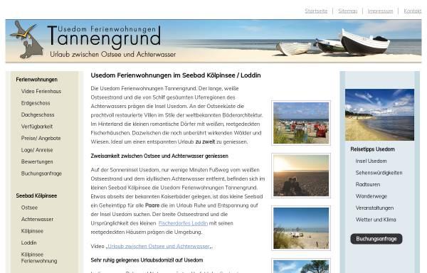 Vorschau von www.ferienwohnungen-insel-usedom.de, Ferienwohnungen Henke