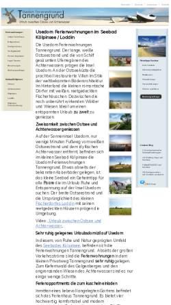 Vorschau der mobilen Webseite www.ferienwohnungen-insel-usedom.de, Ferienwohnungen Henke