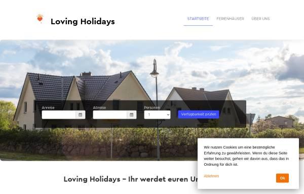 Vorschau von www.am-jungfernberg.de, Ferienhäuser Thiele