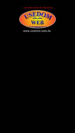 Vorschau der mobilen Webseite www.insel-urlaub-usedom.de, Ferienwohnungen-Verzeichnis von H.-Jürgen Döring