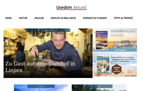Vorschau von www.usedom-aktuell.de, Magazin Usedom aktuell
